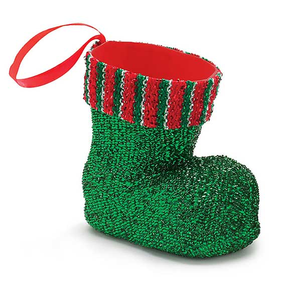 Green Sparkle Boot