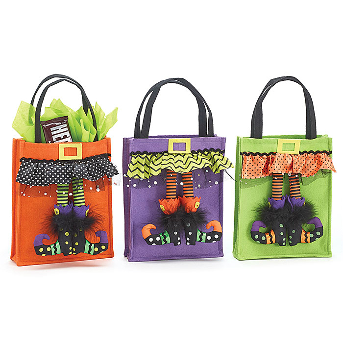 Witch Legs Halloween Bag