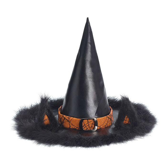 Black Cat Ears Witch Hat