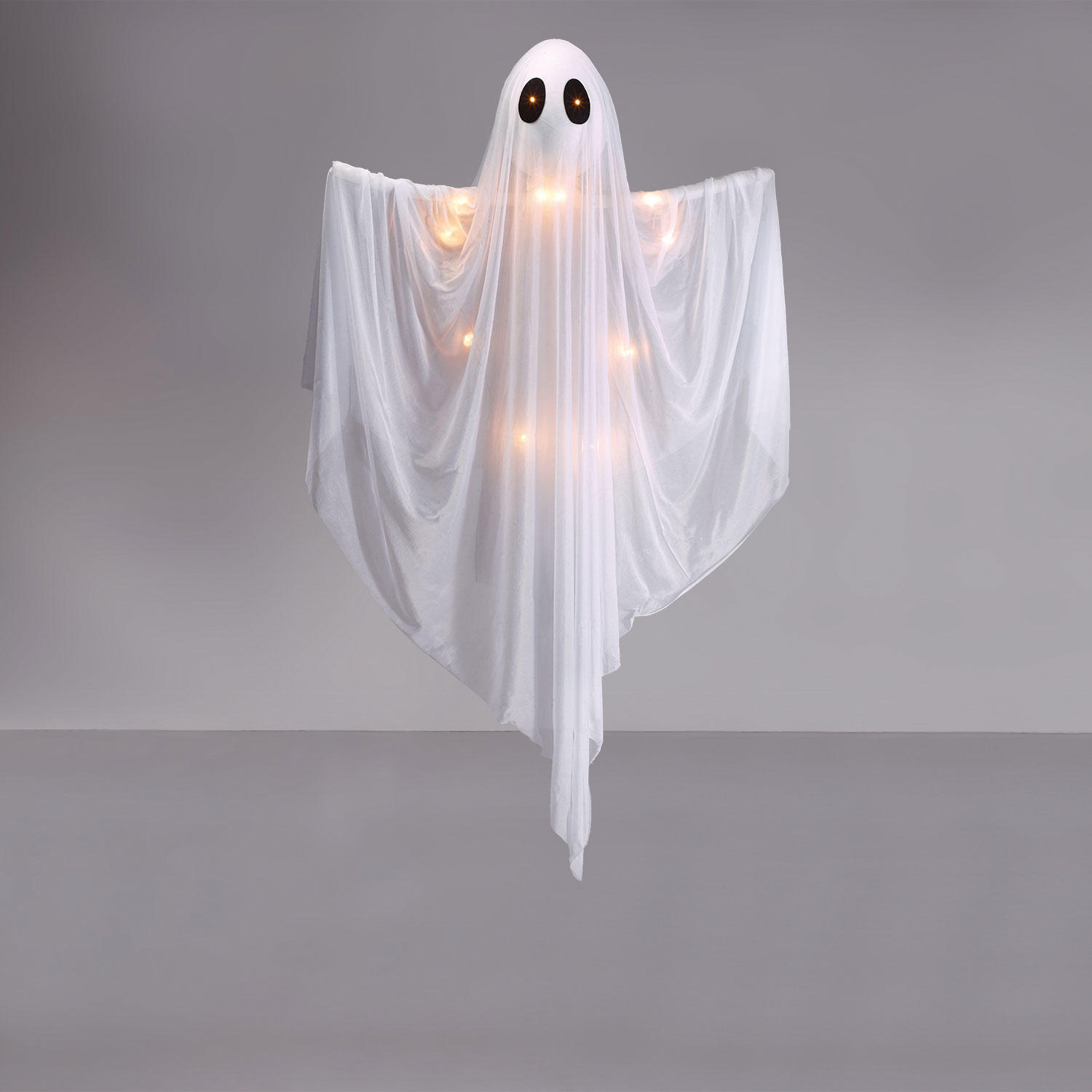 Hanging Ghost w/ Light Up Eyes