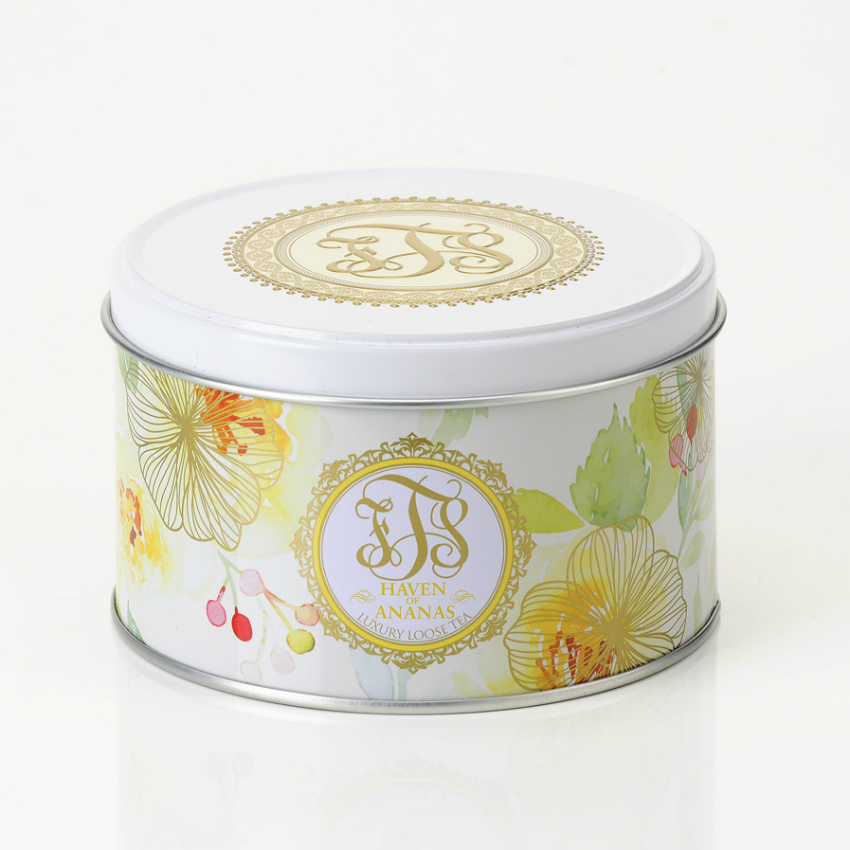 Haven of Ananas Loose Tea Tin