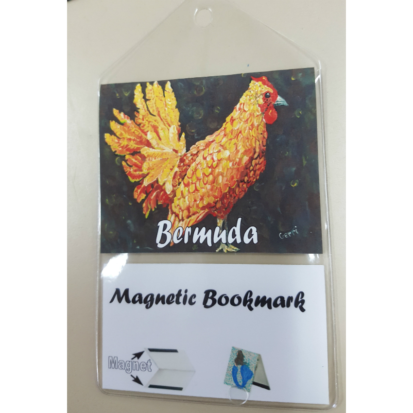 Bermuda Chicken Bookmark