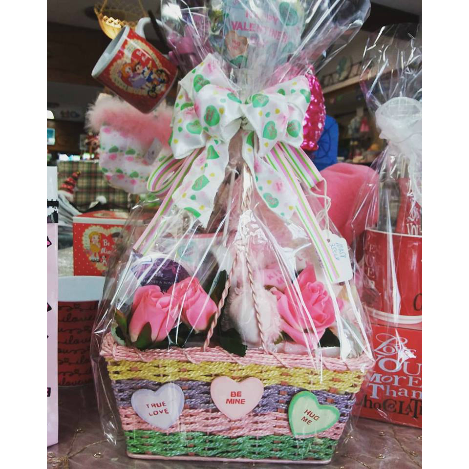 Conversation Hearts Gift Basket
