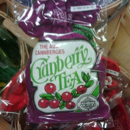 Cranberry Tea 10 Bag Pouch