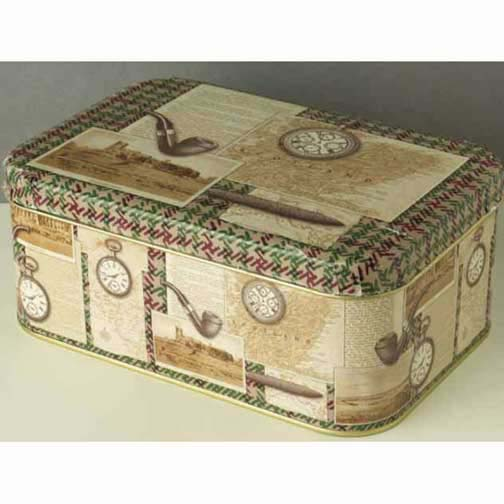 Mr. Watson Hinged Cookie Tin (CLICK FOR OFFER)