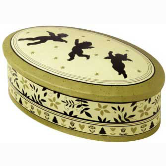 Jubilate Large Oval Candy Tin