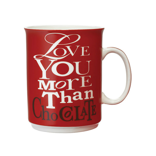 Love You More Than Chocolate Mug