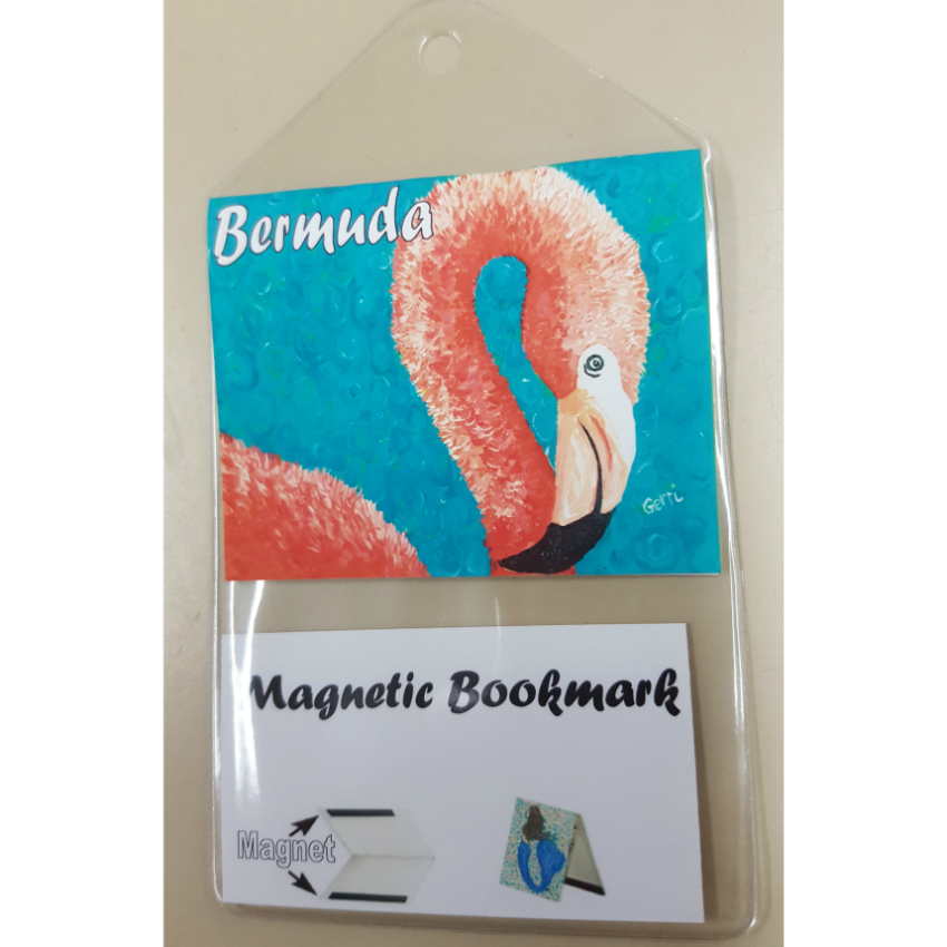 Bermuda Flamingo Bookmark