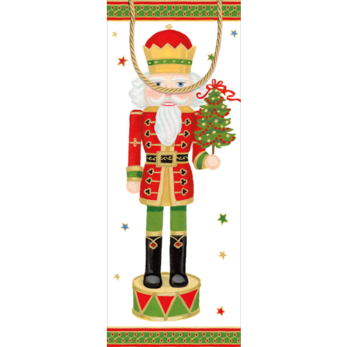 Nutcracker Parade Bottle Bag 13""