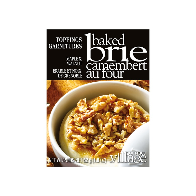 Maple Walnut Brie Topping Mix
