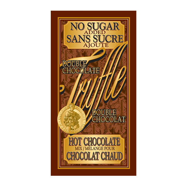 No Sugar Double Truffle Hot Chocolate