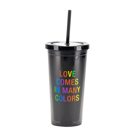 Love Come In Many Colors Drink Tumbler