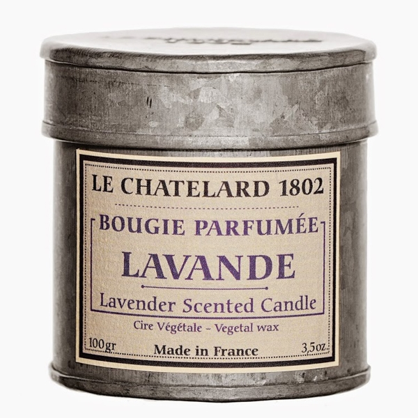 Le Chatelard Lavender Scented Candle