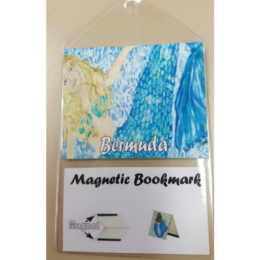 Bermuda Mermaid Bookmark