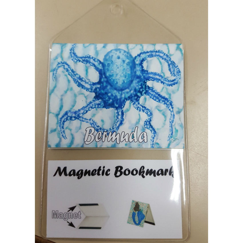 Bermuda Octopus Bookmark