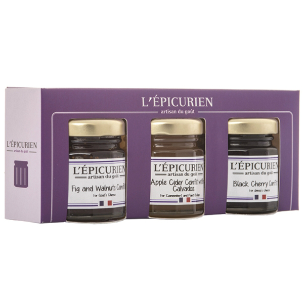 L'Epicurien Mini Cheese Confit Set