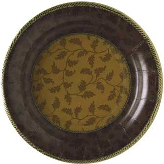 Foliole Brown Paper Cocktail Plates<B>(Special)</B>