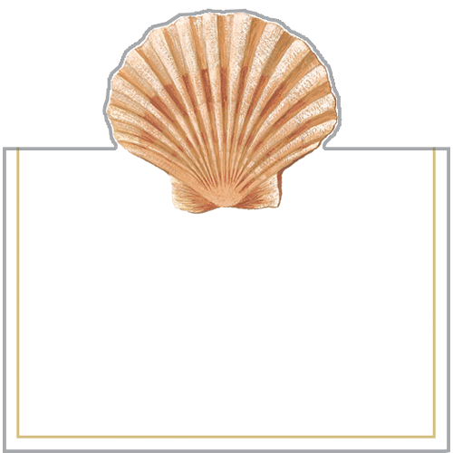 Seaside Shell Place Cards