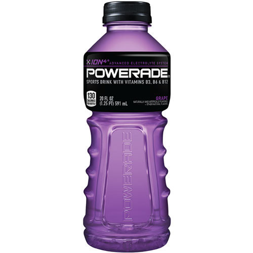 Grape Powerade Sports Drink 20oz