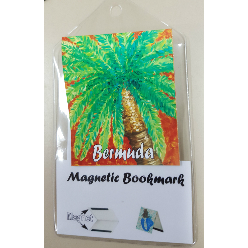 Bermuda Palm Tree Bookmark