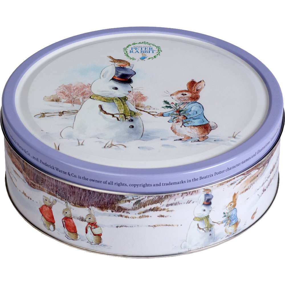 Jacobsen's Peter Rabbit Danish Cookies Tin