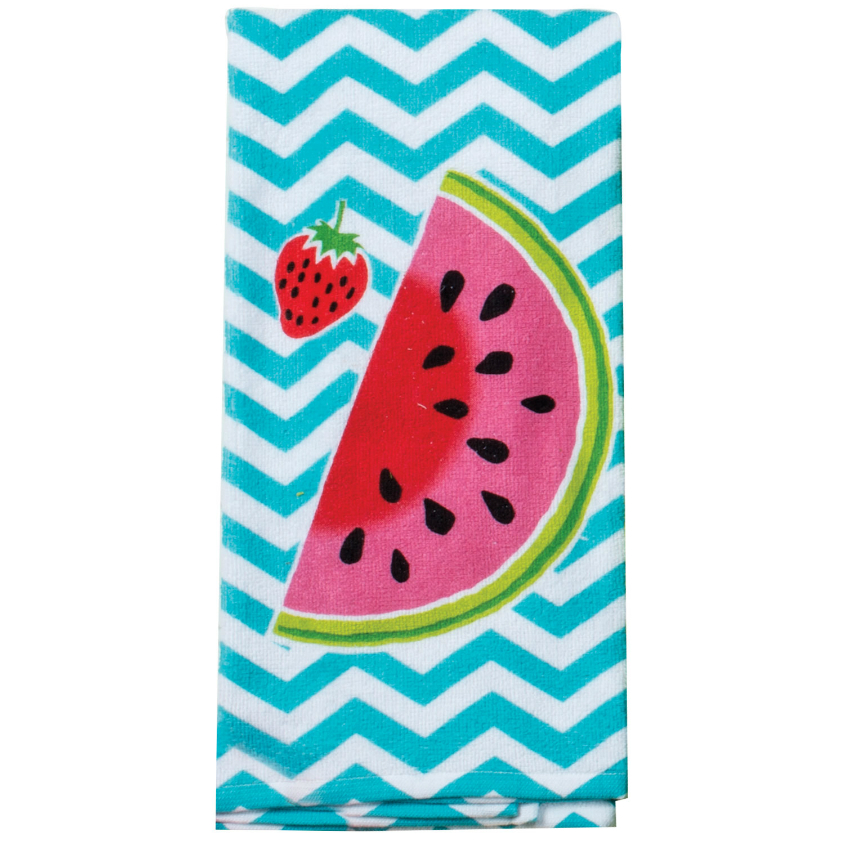 Summer Fun Watermelon Terry Towel