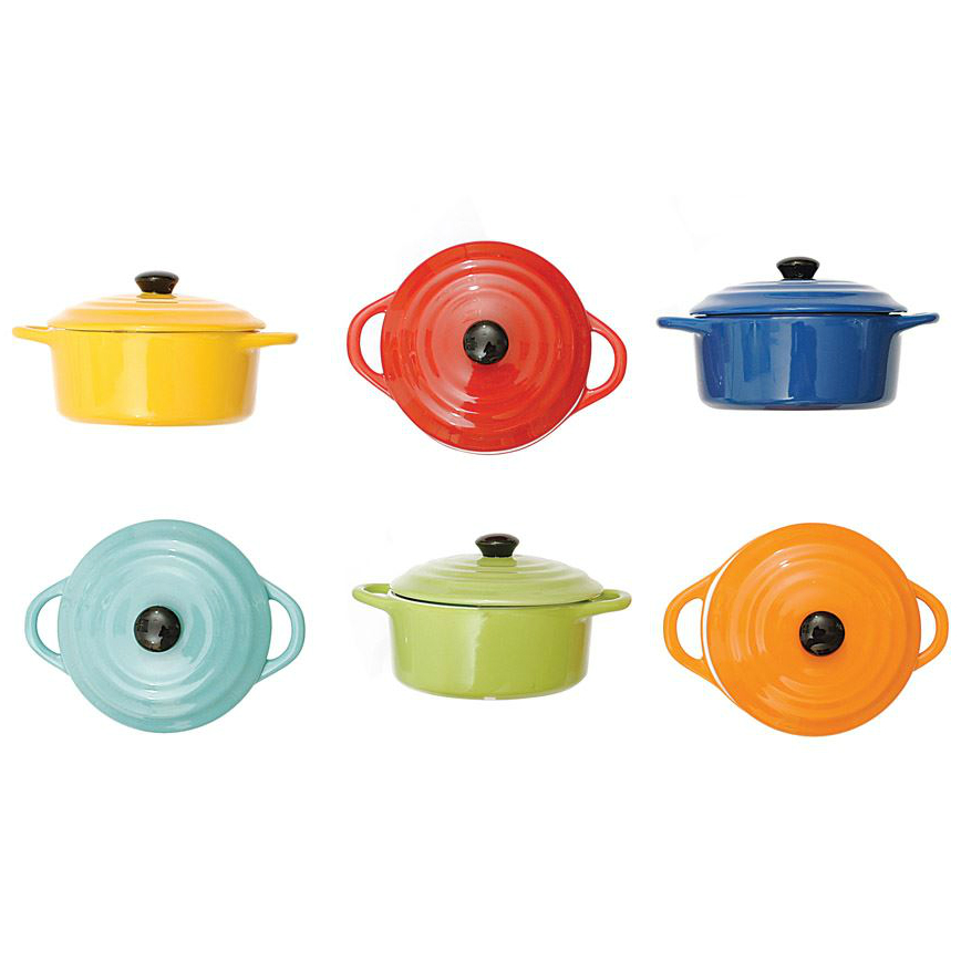 "Stoneware Mini Baker 5"" Colour"