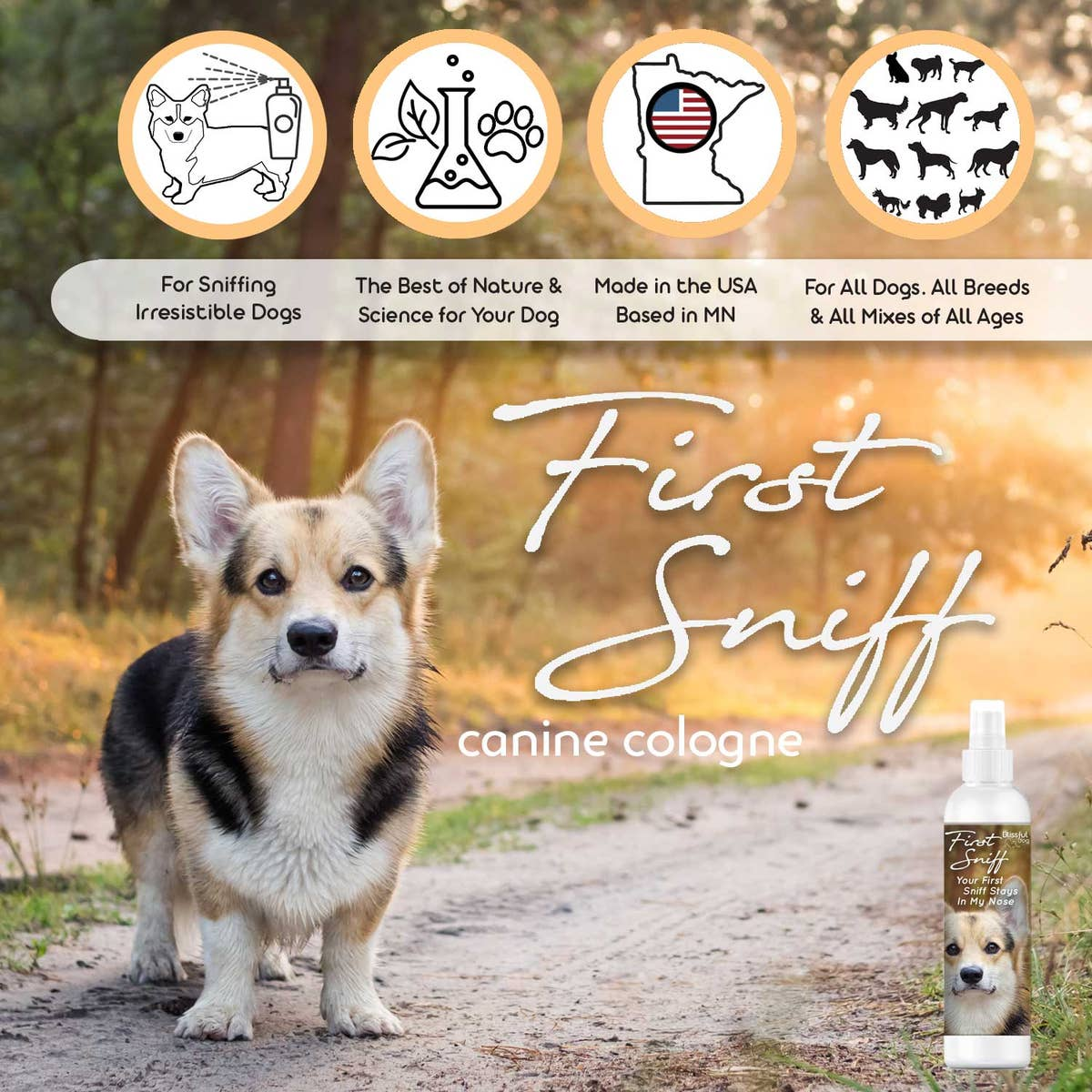 First Sniff Canine Cologne