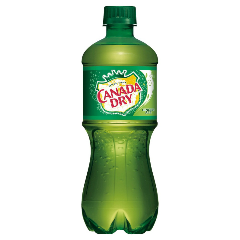 Canada Dry Ginger Ale 20oz Bottle