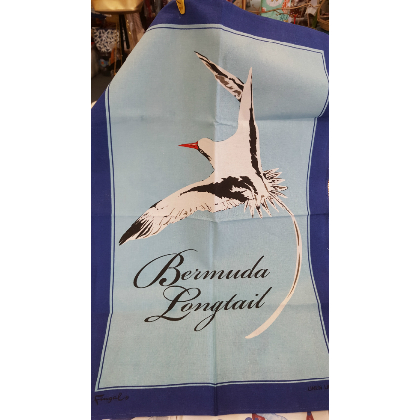Bermuda Longtail Irish Linen Tea Towel