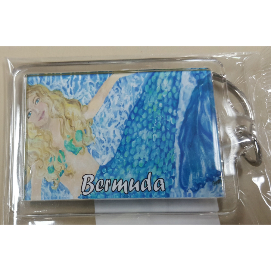 Bermuda Mermaid Key Ring