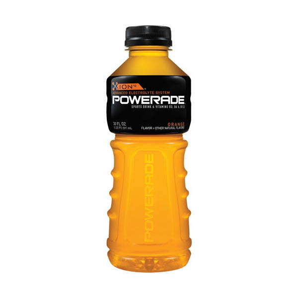 Orange Powerade Sports Drink 20oz