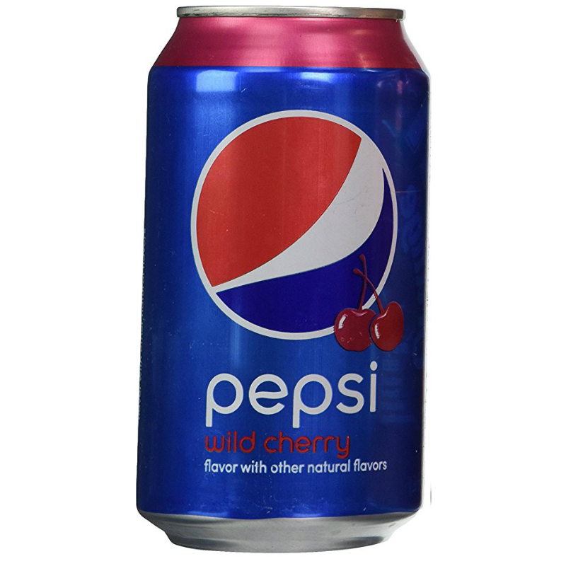 Pepsi Wild Cherry 12oz Tin