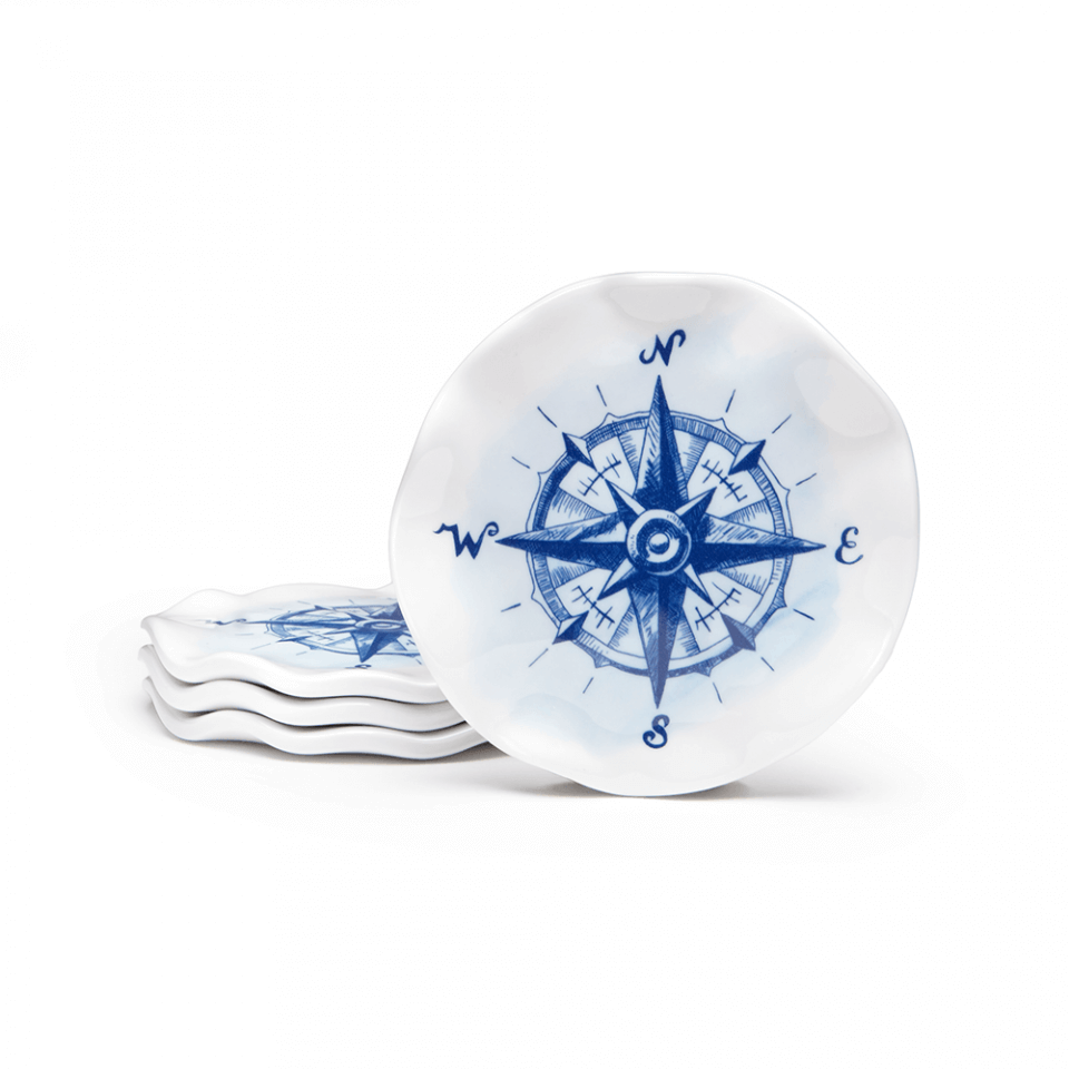 Portsmouth Compass Coasters