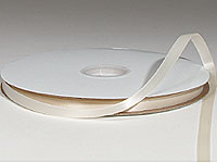 "1/8"" Ivory Satin Ribbon"